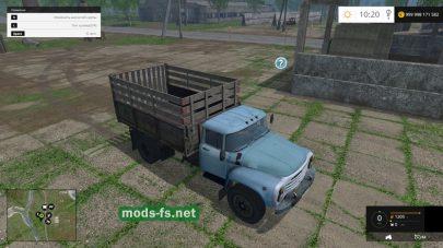Русский грузовик ЗИЛ-130 для FS 2015