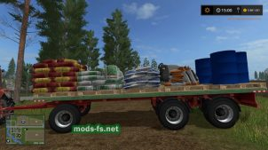 Мод прицепа Brantner для Farming Simulator 2017