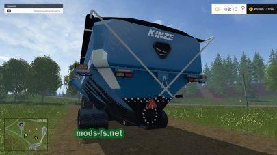 Прицеп для зерна в игре Фермер Симулятор 2015