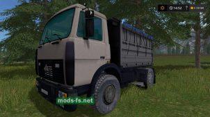 Мод на MAZ 5551 Alpha
