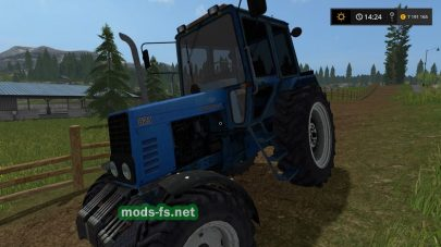 Мод трактора MTZ 82.1 для Farming Simulator 2017