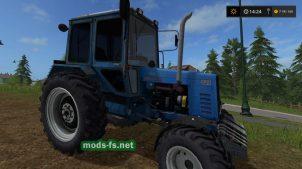 Трактор МТЗ 82.1 для симулятора фермера