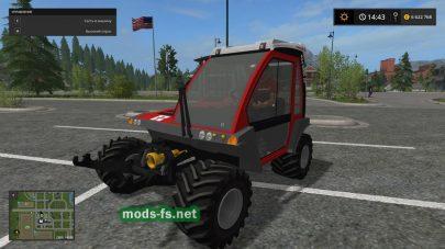 Мод трактора «Reform Metrac G5X» для FS 2017