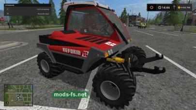 Reform Metrac G5X mods FS 2017