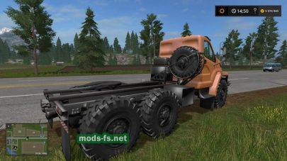 Мод тягача Ural Next для Фермер Симулятор 2017