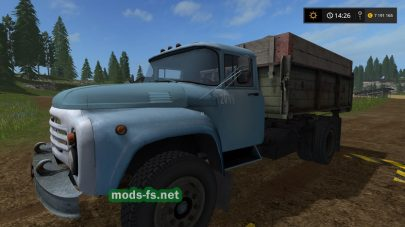Мод ЗИЛ-130 для Farming Simulator 2017