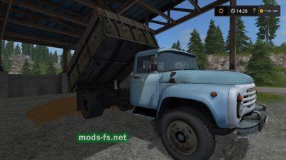 Русский грузовик ЗИЛ-130 для игры FS 2017