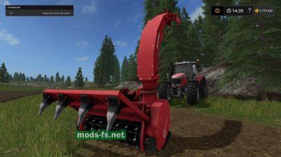 Установка для производства щепы в Farming Simulator 2017