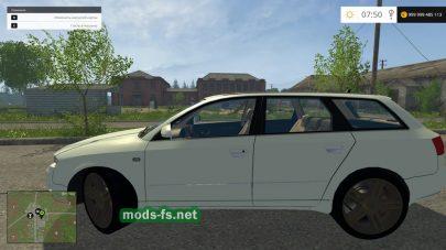 Audi A4 mods FS 2015