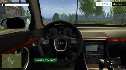 Audi A4 Avant Quattro для Farming Simulator 2015