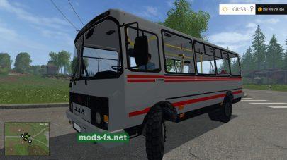Мод автобуса ПАЗ 3205