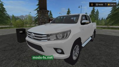 Мод пикапа Toyota Hilux для FS 2017