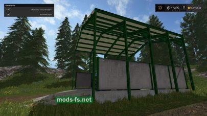 Статический объект автомойки для Фермер Симулятор 2017