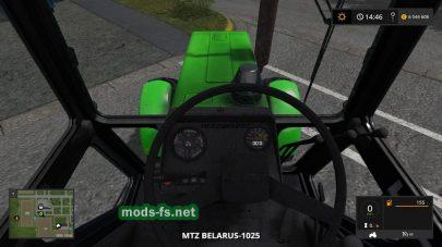 Мод трактора МТЗ Беларус 1025