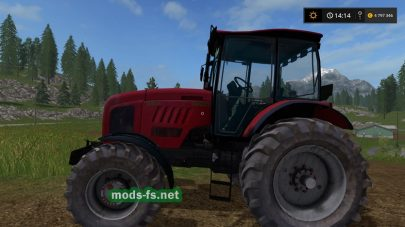 Трактор Беларус-2022.3 для Farming Simulator 2017