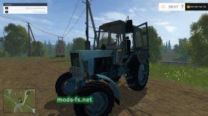 Мод MTZ-80 для FS 2015