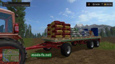 Заправка удобрениями и топливом в Farming Simulator 2017