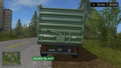 Brantner TA14045 XXL для Farming Simulator 2017
