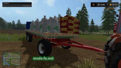 Под прицеп для заправки сеялок зерном в игре FS 2017
