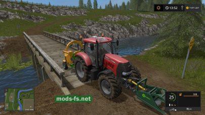 Мод CASE IH PUMA 160 для Farming Simulator 2017