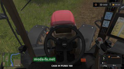 Трактор CASE IH PUMA 160 для игры FS 2017