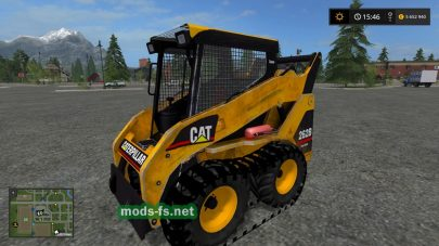 Caterpillar 262B mods FS 2017