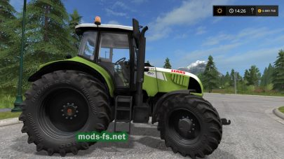 Мод CLAAS ARION 620 Cebis для FS 2017