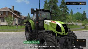 Скриншот мода CLAAS ARION 620 Cebis