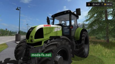 Мод трактора CLAAS ARION 620 для Farming Simulator 2017