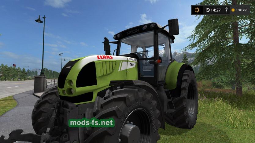 скачать мод трактора для Farming Simulator 2017 - фото 5