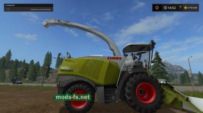 Комбайн Claas для Фермер Симулятор 2017