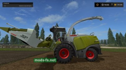 Claas Jaguar 980 mods FS 2017