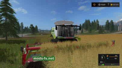 CLAAS LEXION 780 для Farming Simulator 2017