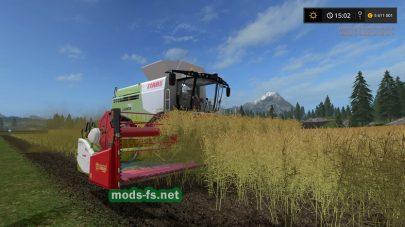 Комбайн CLAAS LEXION 780 для игры Фермер Симулятор 2017