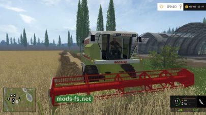 CLAAS MEGA 204 mods