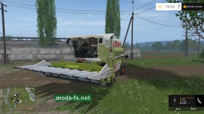 Фото комбайна CLAAS MEGA 204 для игры Фермер Симулятор 2015
