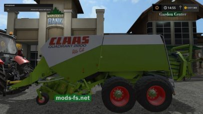 Claas Quadrant 2200 mods FS 2017