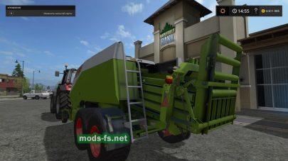 Claas Quadrant 2200 для Farming Simulator 2017