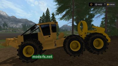 Мод «Clambunk Skidder» для Farming Simulator 2017