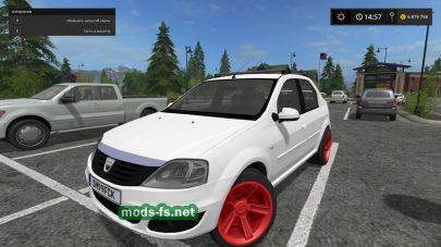 Мод Dacia Logan для FS 2017