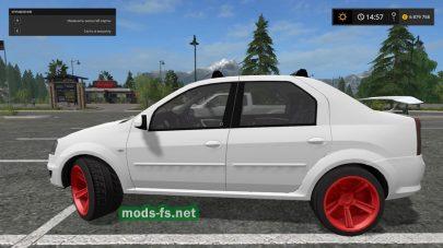 Dacia Logan mods