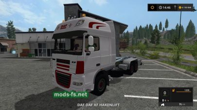 DAF XF IT RUNNER mods