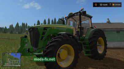 Мод трактора John Deere 8030