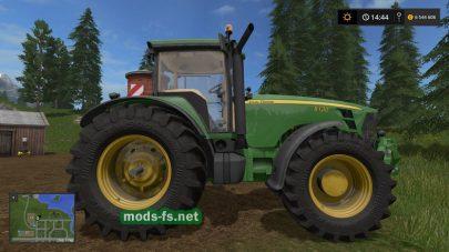 John Deere 8030 для игры Фермер Симулятор 2017
