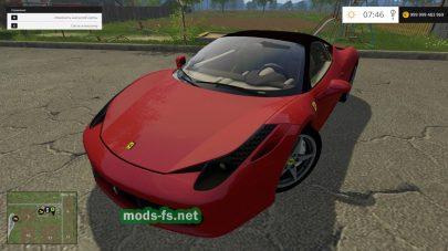 Ferrari 458 Italia mods