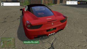 Ferrari 458 Italia для FS 2015