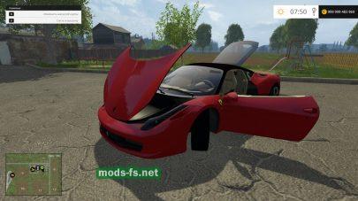 Мод Ferrari для Фермер Симулятор 2015