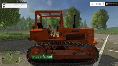 Гусеничный трактор FIAT 120C для Farming Simulator 2015