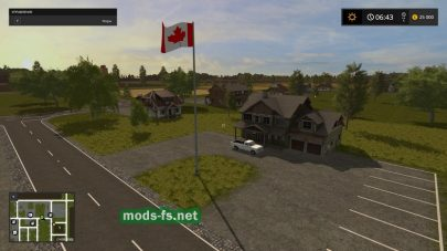 Скриншот карты Canadian National Map v1.0