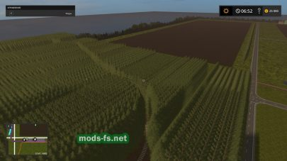 Canadian National Map Farming Simulator 2017
